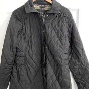 LL Bean Quilted Riding Jacket